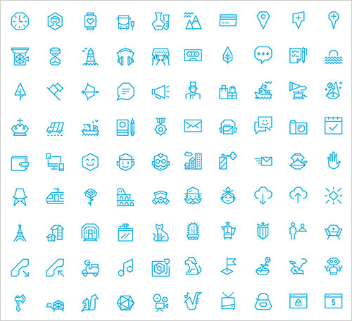 100-free-creative-icons-collection