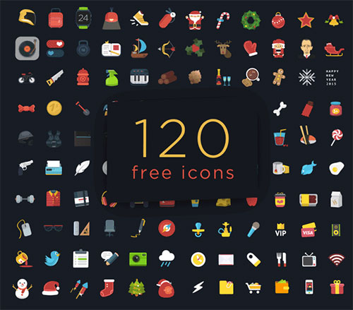 120-free-psd-colorful-flat-icons-set