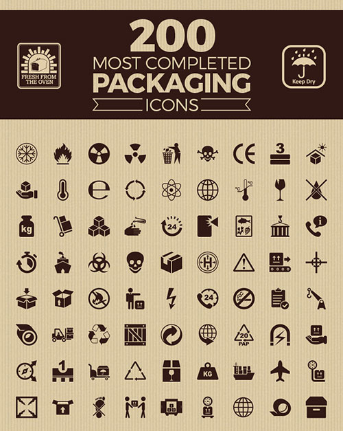 200-most-completed-packaging-icons-collection