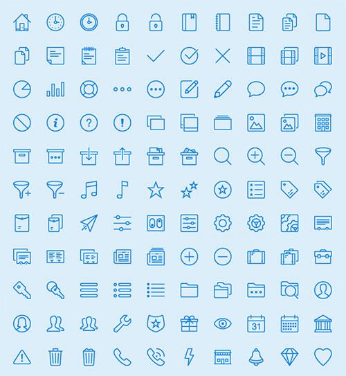 450-line-icons-set