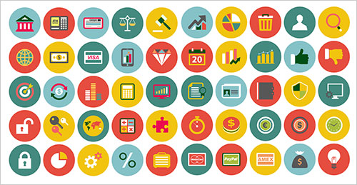 50-free-finance-icons-set