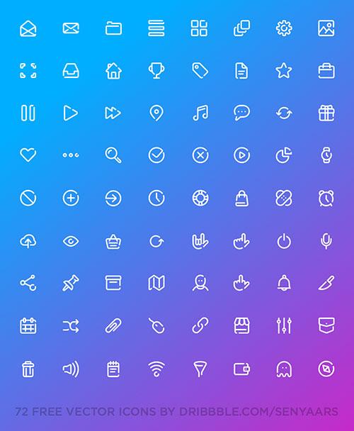 72-line-icons-set