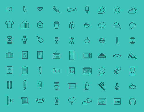 80-fancy-free-icons