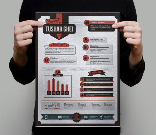 classic-flat-resume-design-for-graphic-and-web-designer