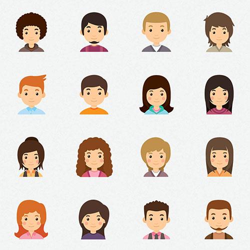 cute-avatar-icon-set