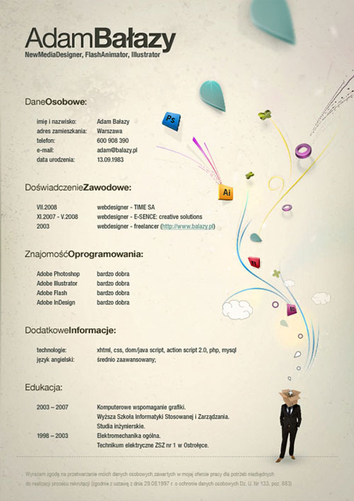 elegant-resume-template-for-news-media-manager-and-illustrator