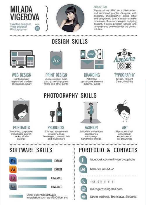 flat-resume-template-for-graphic-photographer-and-web-designer