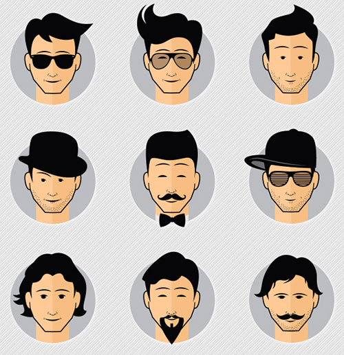 free-cool-male-avatars-vector-icons