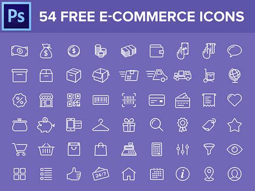 free-e-commerce-icons