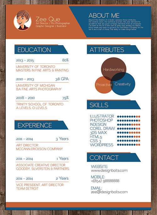 free-vector-illustrator-resume-cv-template-graphic-designers