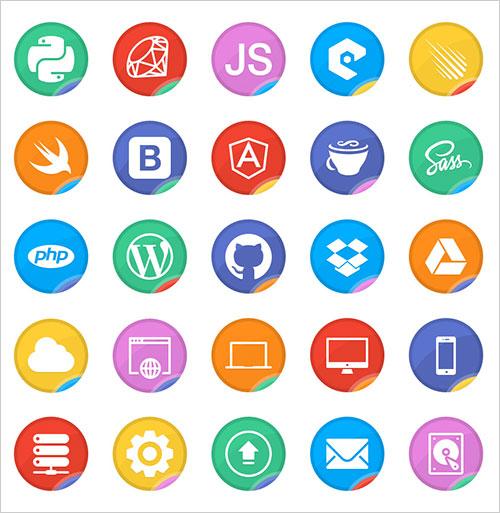 free-web-development-icon-set