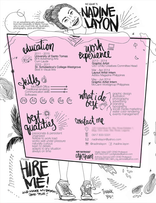 50 Simple Amp Creative Resume Cv Design Ideas Examples