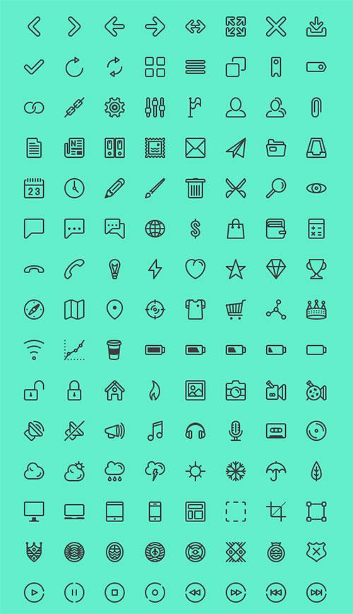 line-icon-set-for-ui-designers