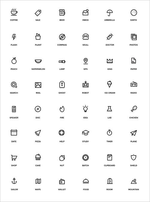 random-stuff-free-icon-set
