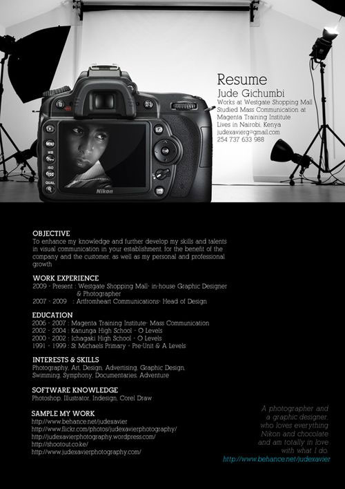 simple-resume-template-design-for-photographers