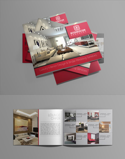 luxury brochure template - 50 best bi fold brochure design templates inspiration for