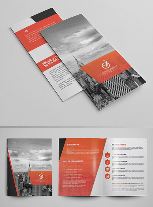 50 best bi fold brochure design templates inspiration for graphic