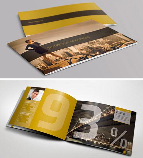 exclusive-horizontal-bi-fold-brochure-template-design