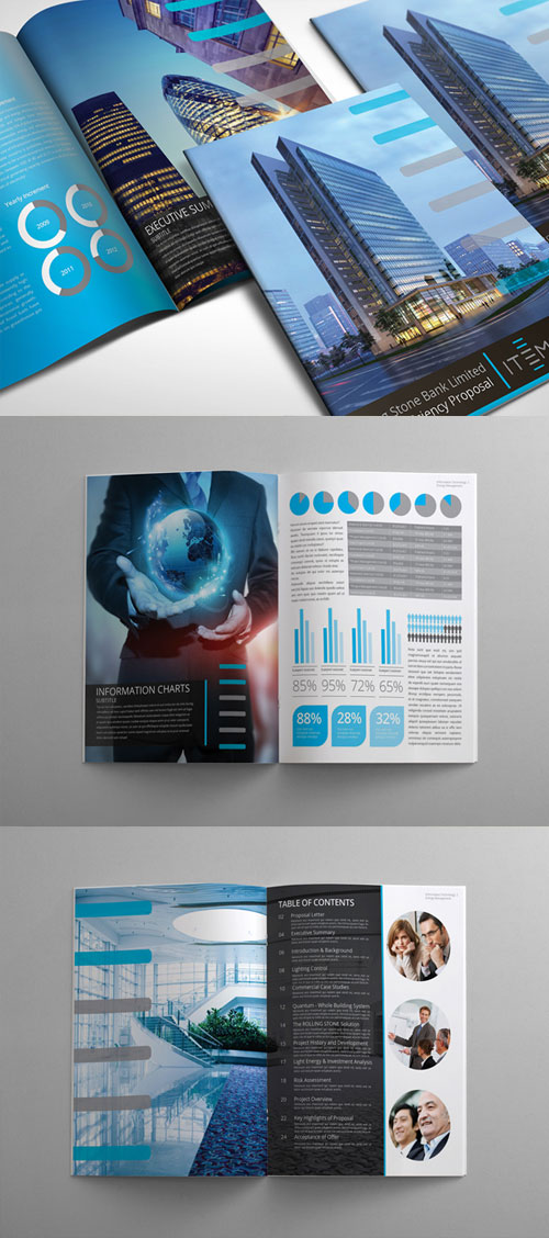Best BiFold Brochure Design Templates Inspiration For Graphic