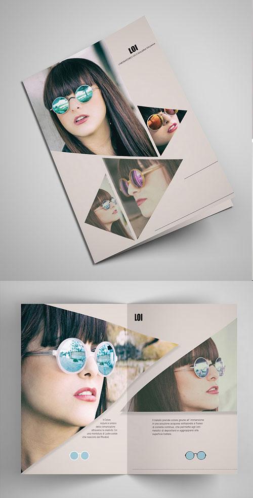 laboratorio-occhialeria-italiana-bi-fold-brochure-design