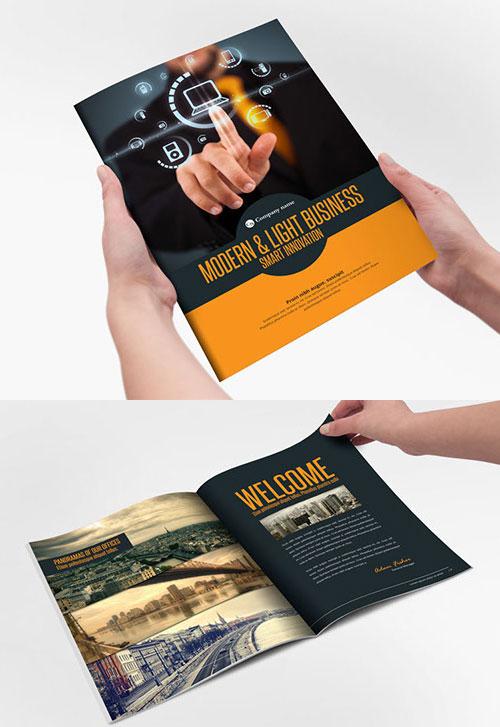 modern-light-business-bi-fold-brochure-design