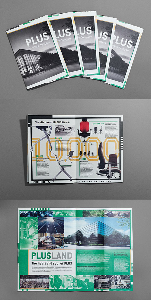50 Best Bi Fold Brochure Design Templates Inspiration For