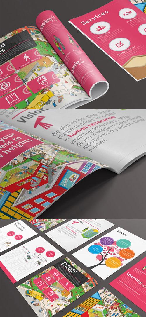 50 Best Bi Fold Brochure Design Templates Inspiration For Graphic