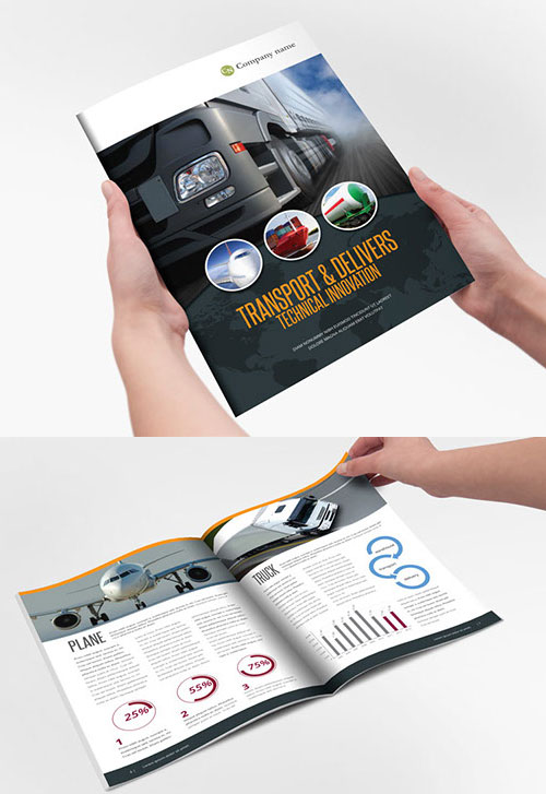 Technical Brochure Template Idealstalist