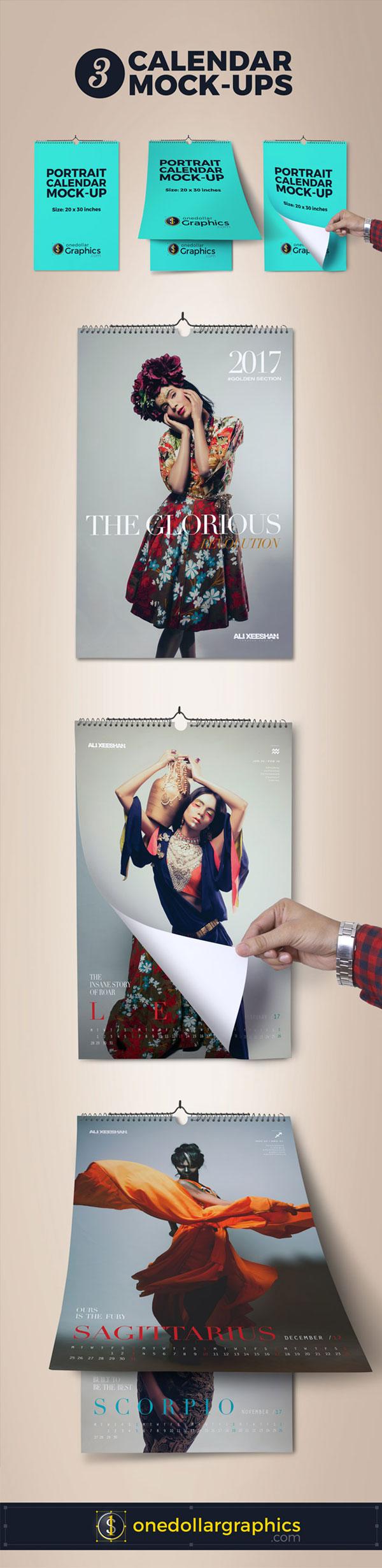 12-zodiac-signs-fashion-wall-calendar-design-template-2017-mock-up-psd-files