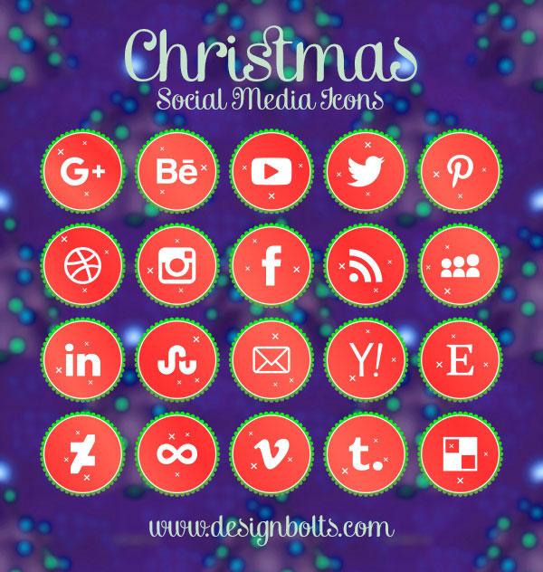 20-free-vector-christmas-social-media-icons