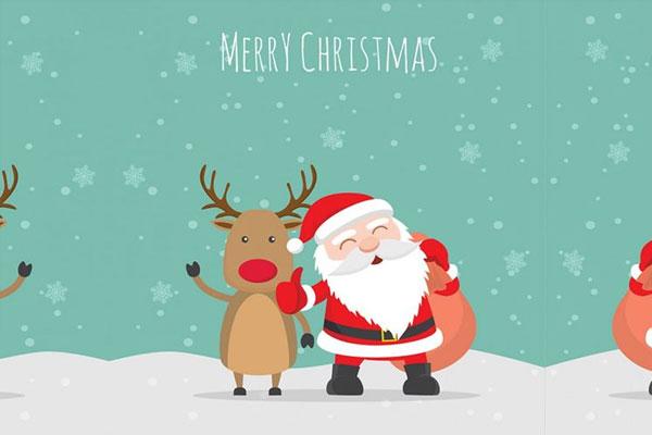 free-merry-christmas-illustration-vector-ai-file
