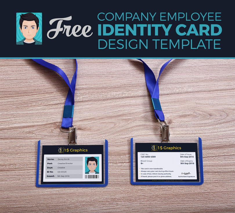 Company-employee-identity-card-design-template-001
