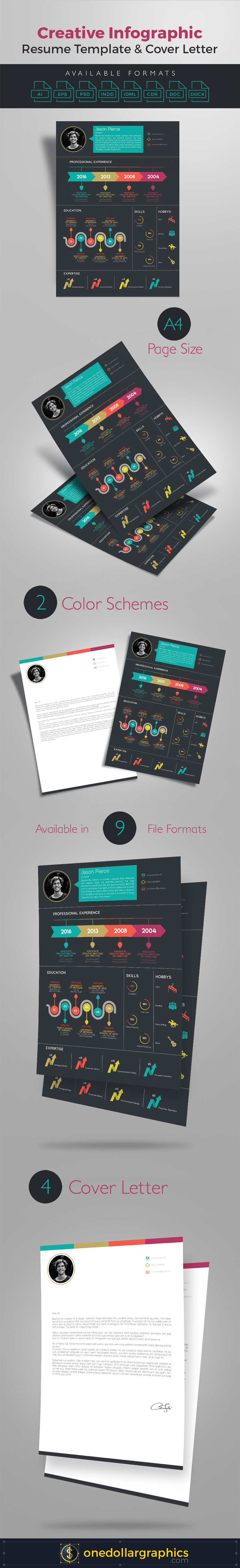 Creative-Infographic-Resume-Template-with-Cover-Letter