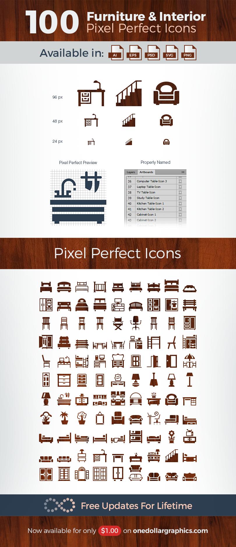 100-pixel-perfect-furniture-interior-vector-icons