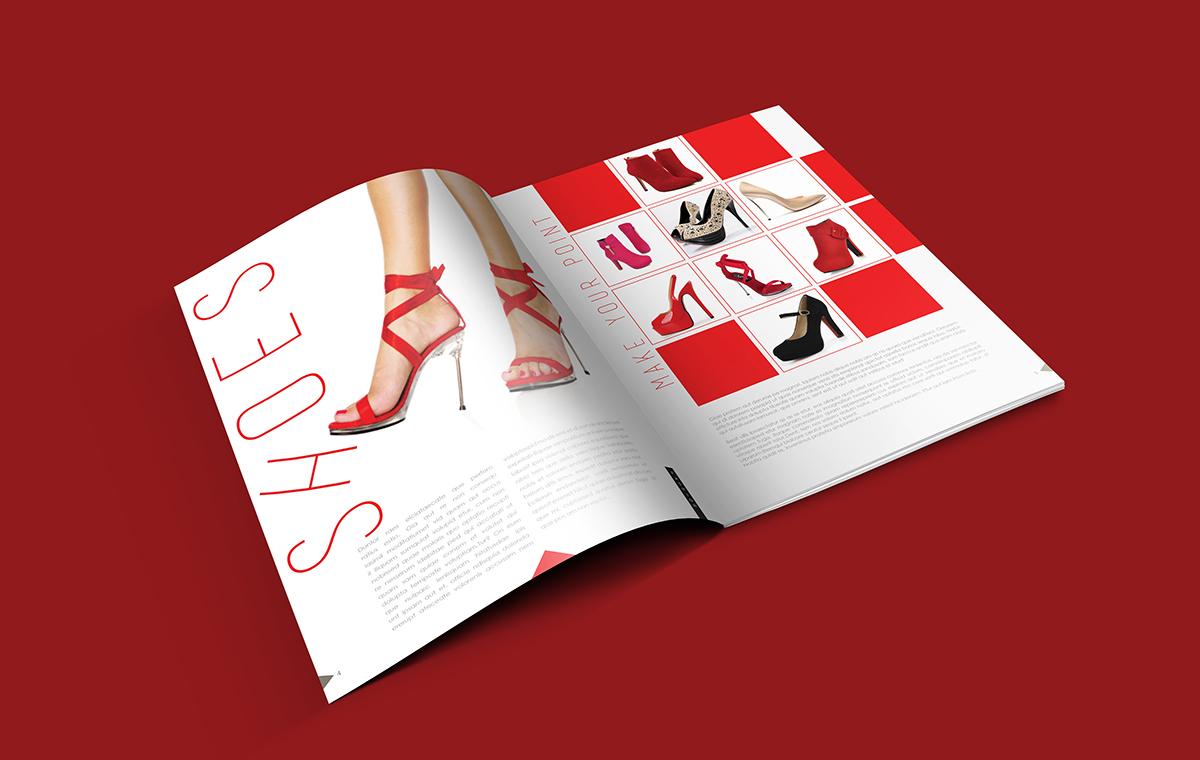 Modern Fashion Catalogue Design Template