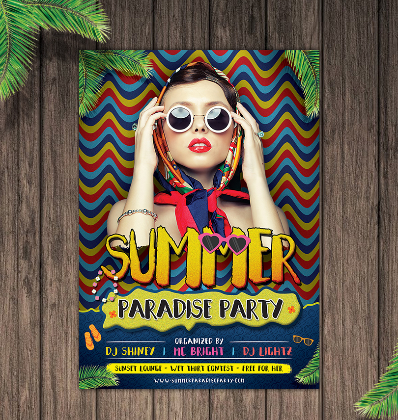 summer-paradise-party-flyer-template-design-1