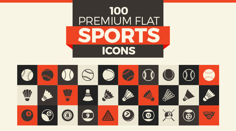 100-premium-flat-sports-icons-feature-image