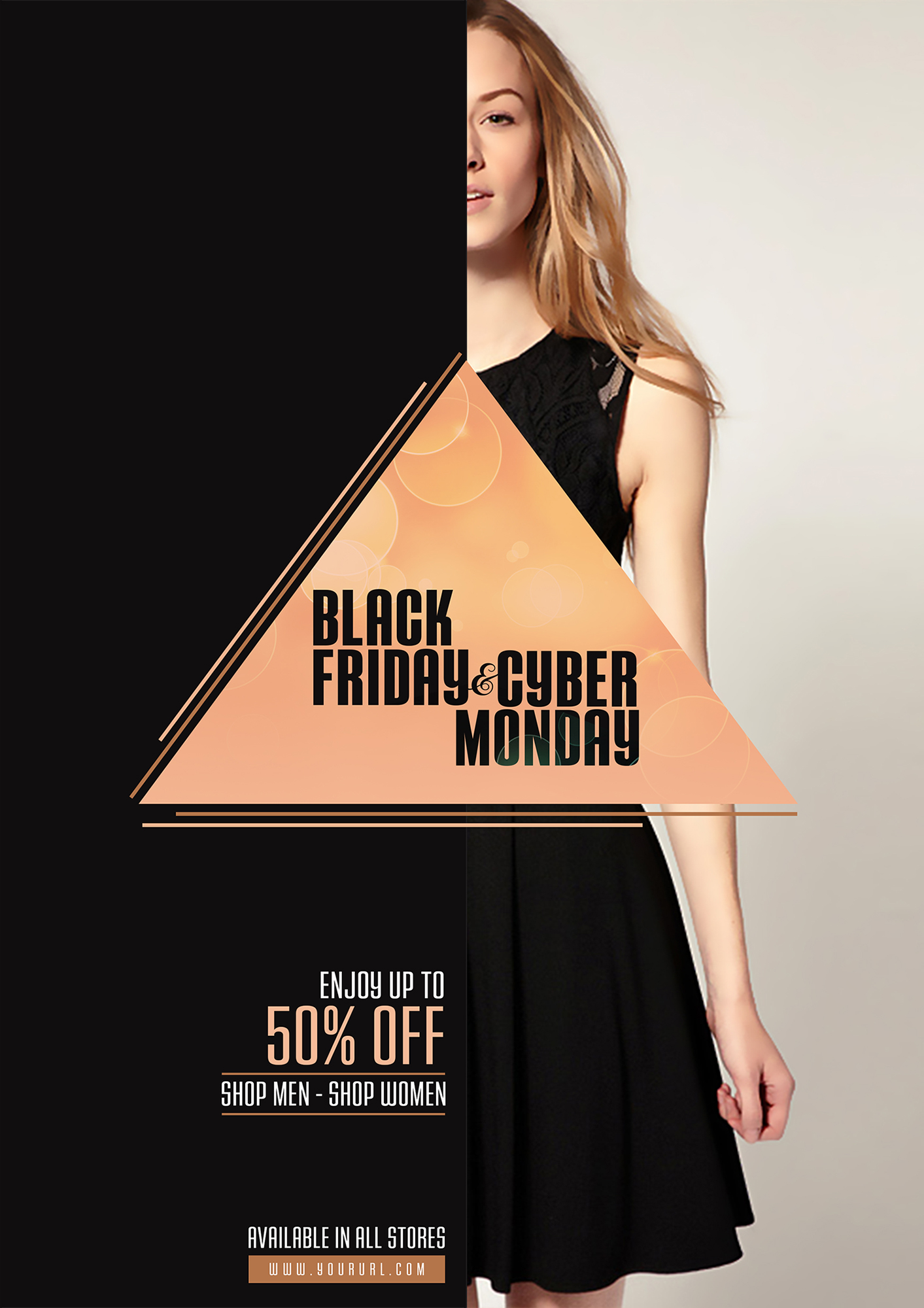 black-friday-and-cyber-monday-flyer-template-design
