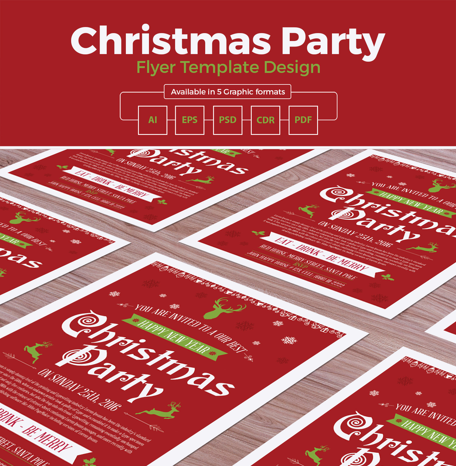 christmas-party-flyer-template-design