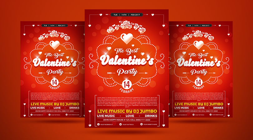 Best-Valentine's-Party-Flyer-Design-Template-600
