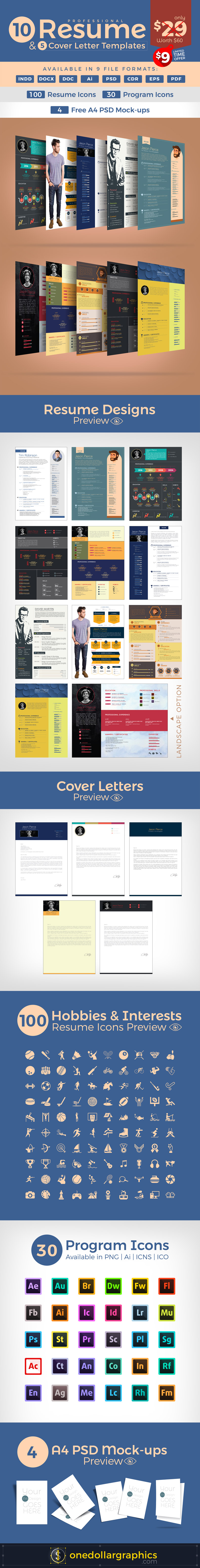 10-Resume-Designs-&-Cover-Letter-Templates-Deal-9