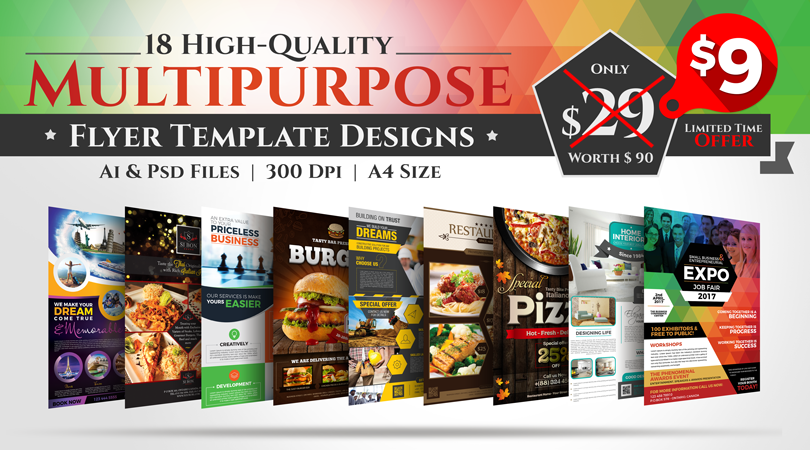 18-Flyer-Templates-Deal-Bundle 2017
