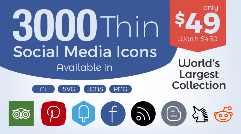 Buy-300-Thin-Social-Media-Icons