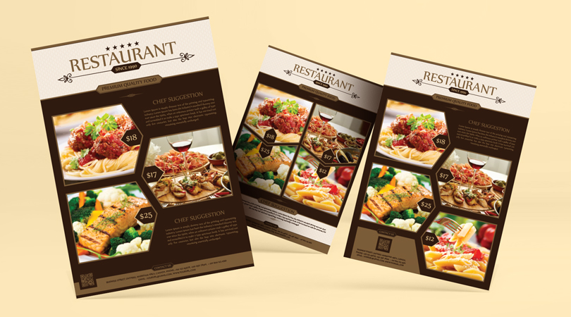 Premium-Restaurant-Flyer-Template-Design