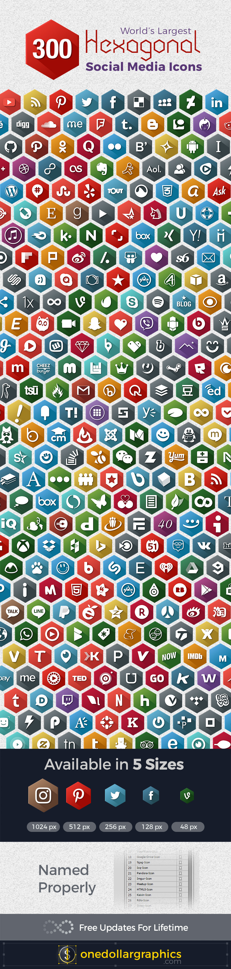 300-hexagonal-social-media-icons-png-ai-png