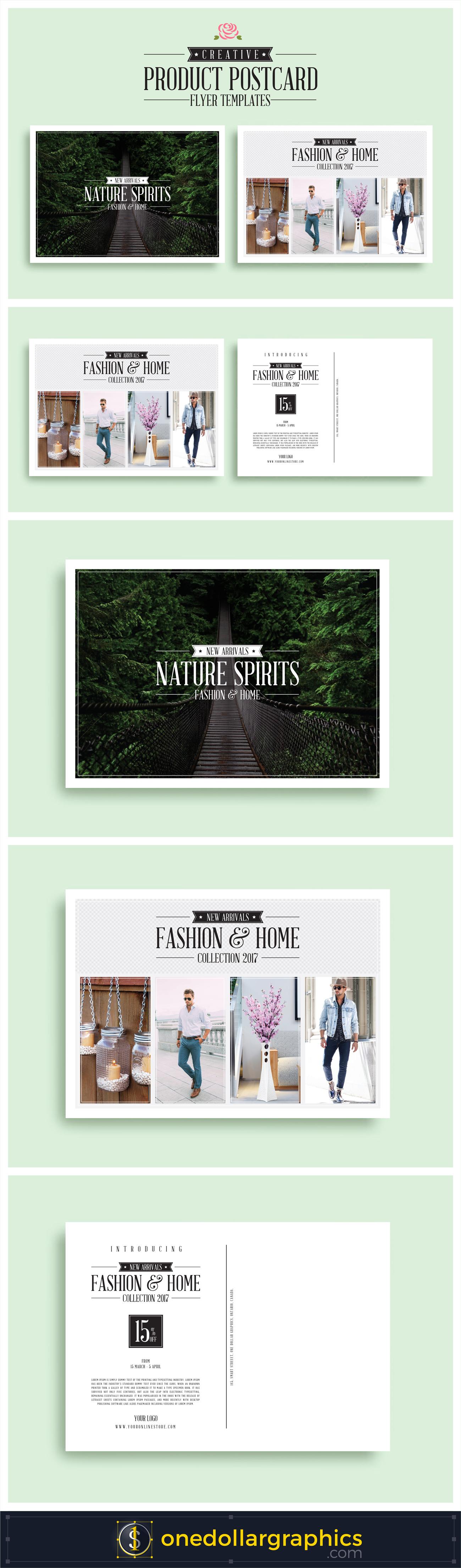 Creative-Product-Postcard-Flyer-Templates