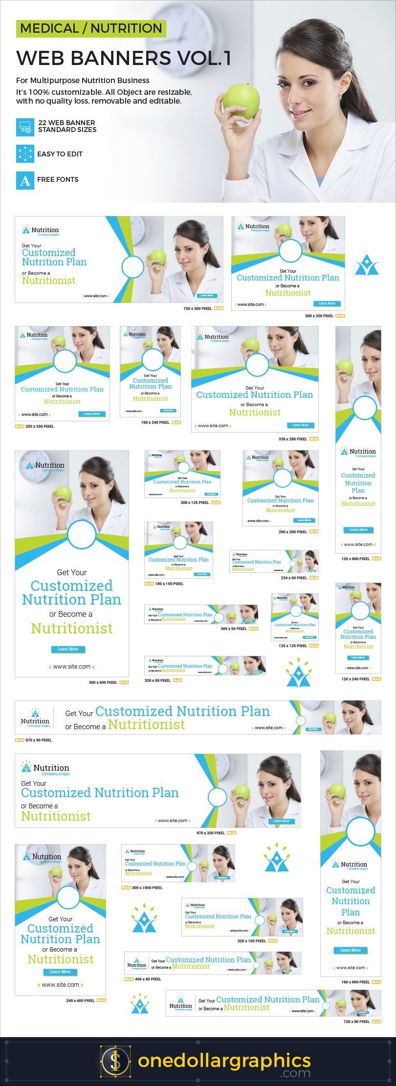 Medical-Nutrition-Web-Ad-Banners