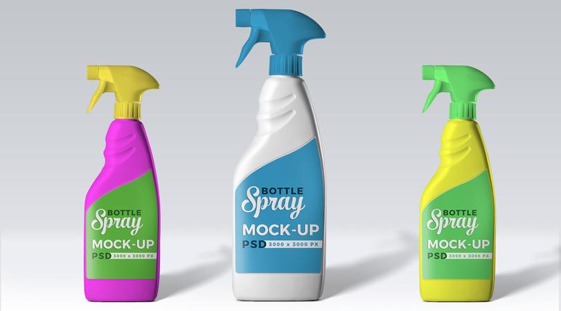 Cleaner Spray-Bottle-Mock-up-PSD-Thumbnail